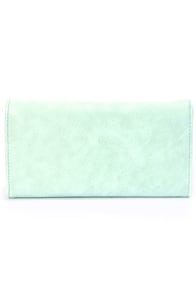 Critter-Sweet Mint Green Wallet at Lulus.com!