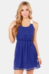Honey Dipper Royal Blue Dress at Lulus.com!
