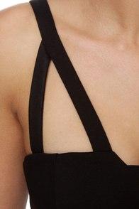 Surprise Surprise Black Dress