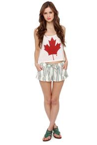Roxy Shore Shot 2 Woven Striped Shorts