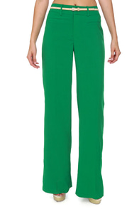 Cool Atmosphere Green Pants at Lulus.com!