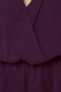 Press Release Purple Romper