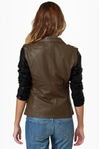 Blank NYC It Takes Two-Tone Vegan Leather Jacket