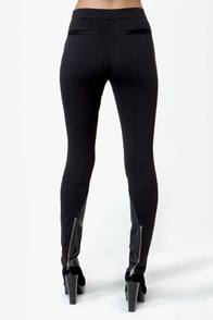 BB Dakota by Jack Anneka Black Leggings at Lulus.com!