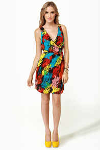 BB Dakota by Jack Edwin Print Dress at Lulus.com!