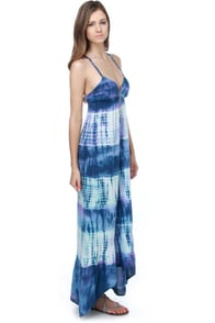 Billabong Maxine Tie-Dye Maxi Dress
