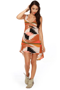 Billabong Indian Summer Print Dress