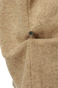 Tahoe Temptress Taupe Sweater Top