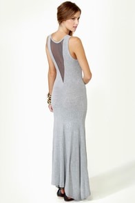Weekend Wonder Grey Maxi Dress