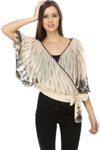 Champagne Toast Sequin Top