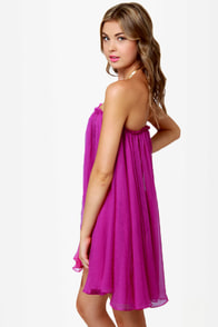 Blaque Label Anthology Strapless Magenta Dress at Lulus.com!