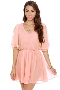 Blaque Label Lemonade Stand Pink Dress