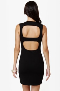 Blaque Label Rapid Descent Backless Black Dress at Lulus.com!