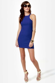 Going Back to Cali Royal Blue Dress