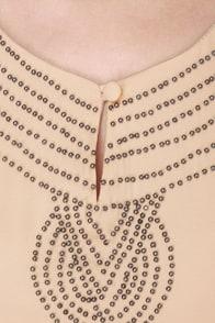 Hiawatha's Darling Dusty Peach Dress