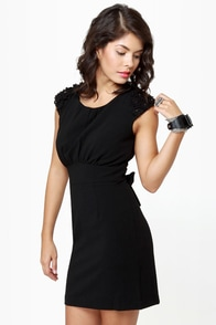 Darling Chantelle Sleeveless Black Dress at Lulus.com!