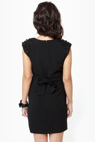 Darling Chantelle Sleeveless Black Dress