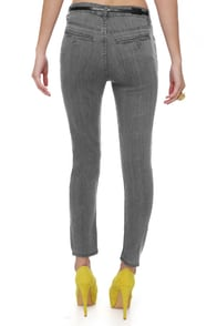 Cheap Monday Ankle Chino Grey Skinny Jeans