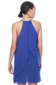 Butterfly Kisses Blue Dress
