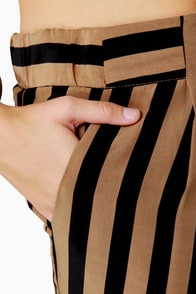 Taper Trail Striped Harem Pants at Lulus.com!