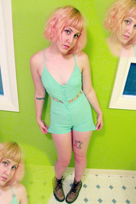 Be My Boo Mint Green Romper