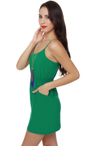 Bells of Ireland Green Dress at Lulus.com!