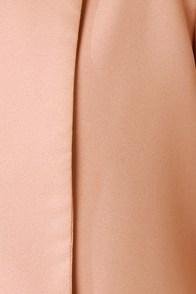 Headmistress Blush Cropped Jacket at Lulus.com!