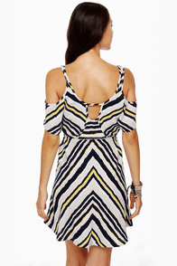 Hurley Tigger Striped Dress at Lulus.com!