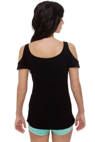 Hurley Crossroads Black Top