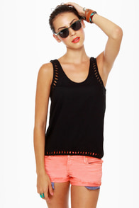 Hurley Indie Black Tank Top
