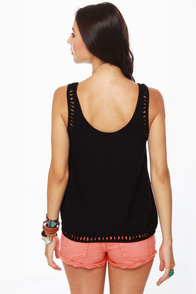 Hurley Indie Black Tank Top at Lulus.com!