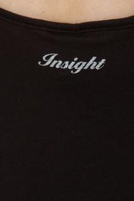 Insight Road Trippin' Black Print Tank Top at Lulus.com!