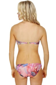 Insight Psych Floral Bandeau Bikini at Lulus.com!