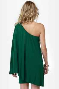 Leaves of Sass Dark Green Dress at Lulus.com!