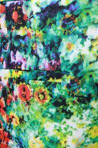Monet, Monet, Monet Cropped Floral Print Pants