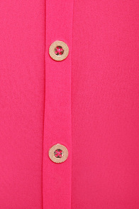 Through the Ruffle Patch Fuchsia Pink Tank Top at Lulus.com!