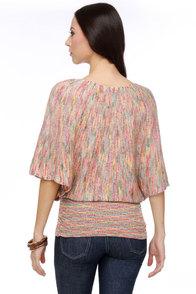 Tropicalia Multi Sweater Top