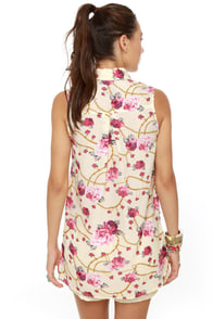 Rosie the Ravishing Floral Print Top at Lulus.com!