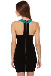 Center of Attention Color Block Dress at Lulus.com!