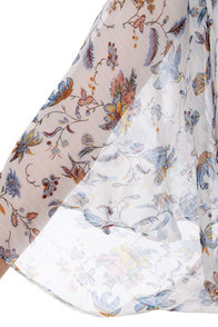 Oh Alison Floral Print Crop Top at Lulus.com!