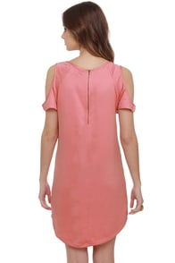 Pickled Ginger Pink Shift Dress at Lulus.com!