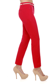 New Semester Red Pants