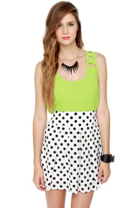Keep on Jiving Polka Dot Skirt