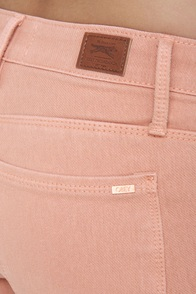 Obey Lean & Mean Blush Pink Jeans