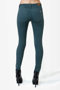 Obey Lean & Mean Indian Teal Jeans at Lulus.com!