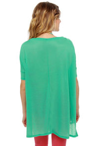 Get Along and Short Teal Top at Lulus.com!