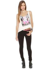 RVCA Longshot Black Skinny Pants