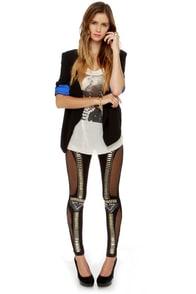 Did I Stud-her? Studded Black Leggings