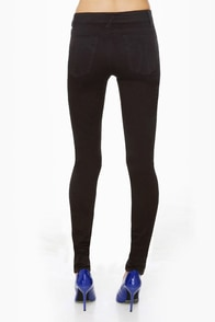 Tripp NYC Antique Black High-Waist Skinny Jeans at Lulus.com!