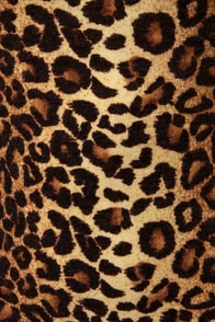 That Lovin' Feline Animal Print Dress at Lulus.com!
